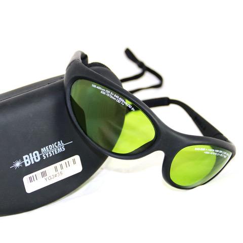 Laserschutzbrille für pulsierenden Therapielaser Bio-Medical-Systems